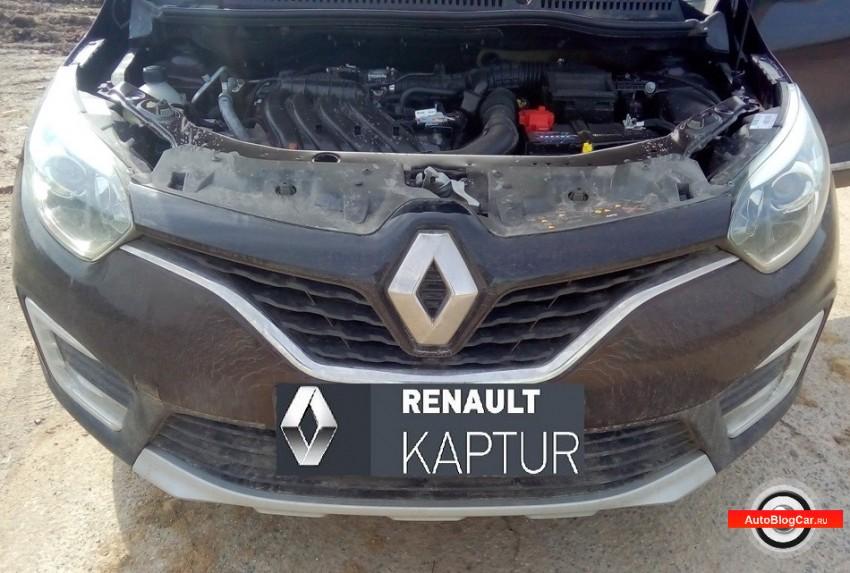 Renault Kaptur: стоит ли устанавливать защитную сетку радиатора