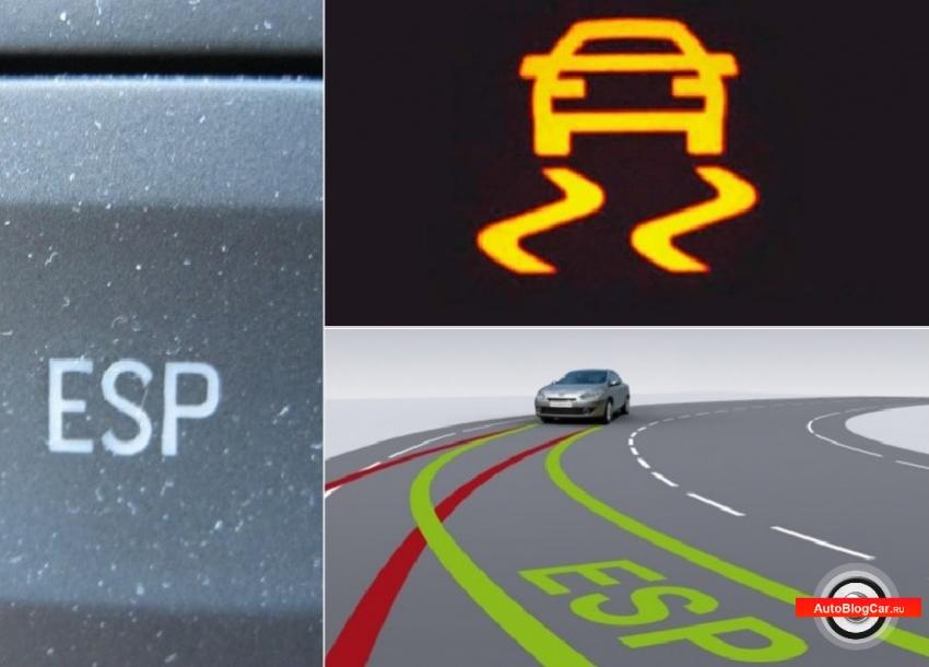 Электронная система стабилизации (ESP/ЕСП): особенности, функции, принцип работы и обозначения