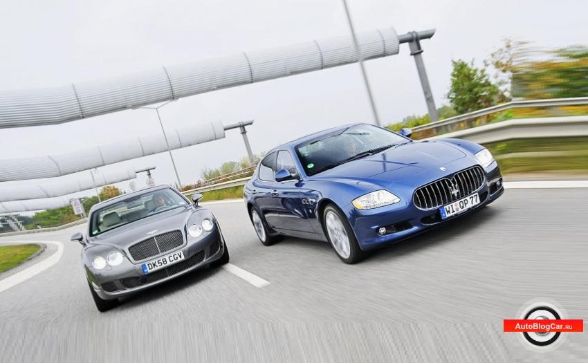 Bentley Continental и Maserati Quattroporte – честный сравнительный обзор: особенности, характеристики и что лучше?