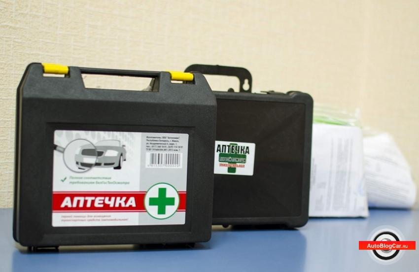 Автомобильная аптечка первой помощи: для чего нужна, что входит в состав и отличительные особенности?
