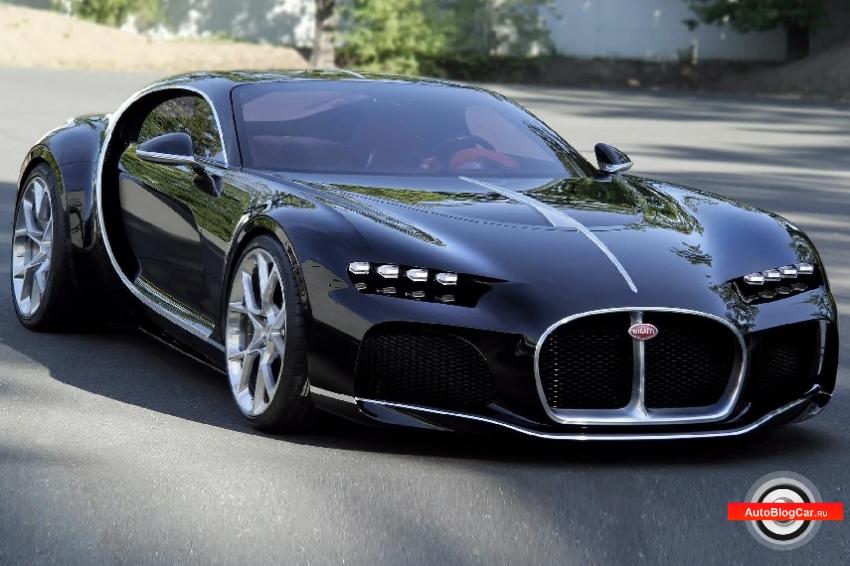 Честный обзор Bugatti Atlantic (Бугатти Атлантик) EB-110 4.0 TSI 600 л.с. Цена, оснащение, характеристики и ресурс