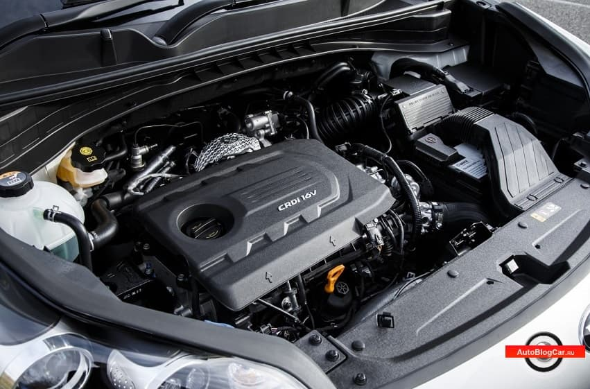 Двигатель Kia Sportage (Киа Спортейдж) и Hyundai Tucson (Хендай Туссан) - D4FD 1.7 CRDi 16v 115/141 л.с