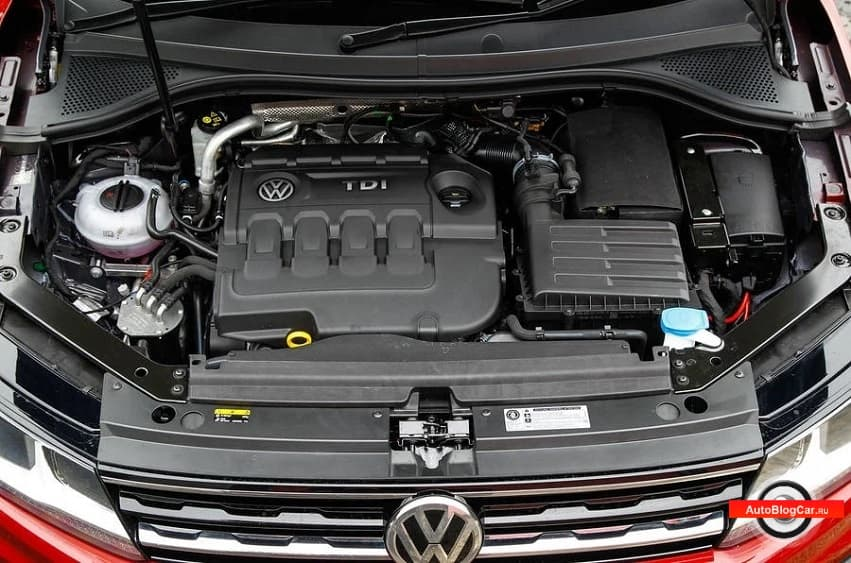 Двигатель Фольксваген Тигуан (Volkswagen Tiguan) - DBGC 2.0 TDI 150 л.с: ресурс, надежность и характеристики