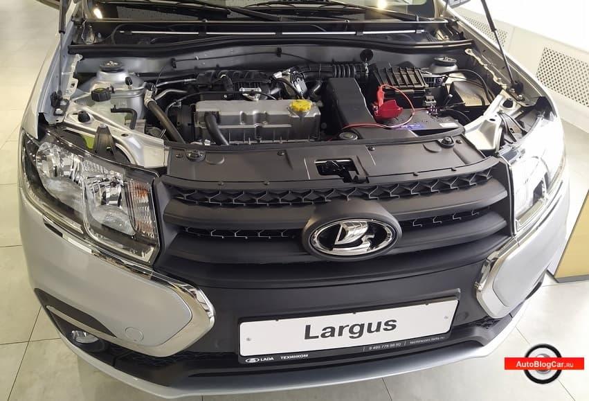 Двигатель новой Лада Ларгус (Гранта) - ВАЗ 11182 1.6 MPI 90 л.с: характеристики, надежность и ресурс