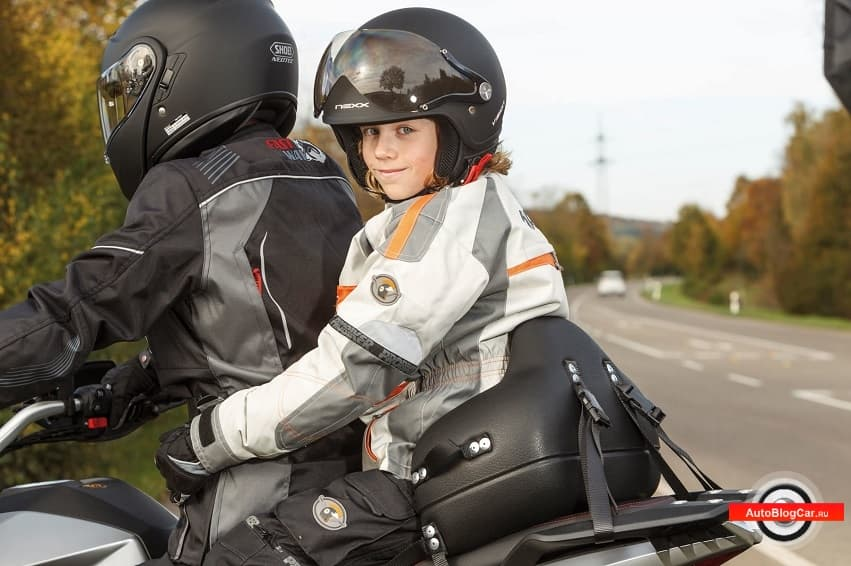 Как перевозить детей на мотоцикле в России и ЕС? Правила и верные советы специалистов