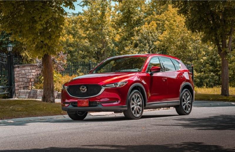 Mazda CX-5 2021 – безопасный и практичный