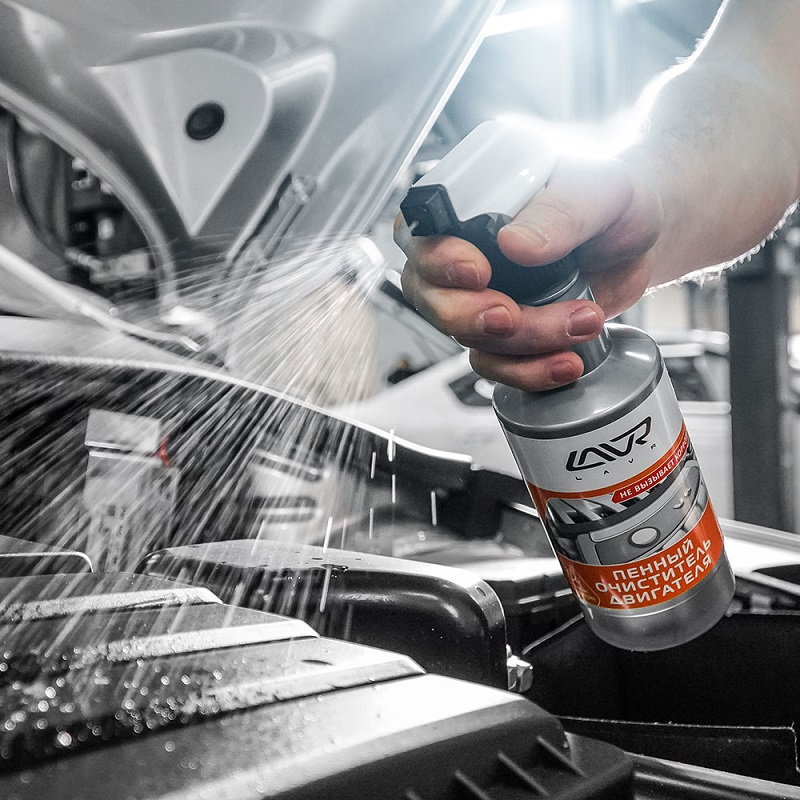 Lavr Foam Motor Cleaner
