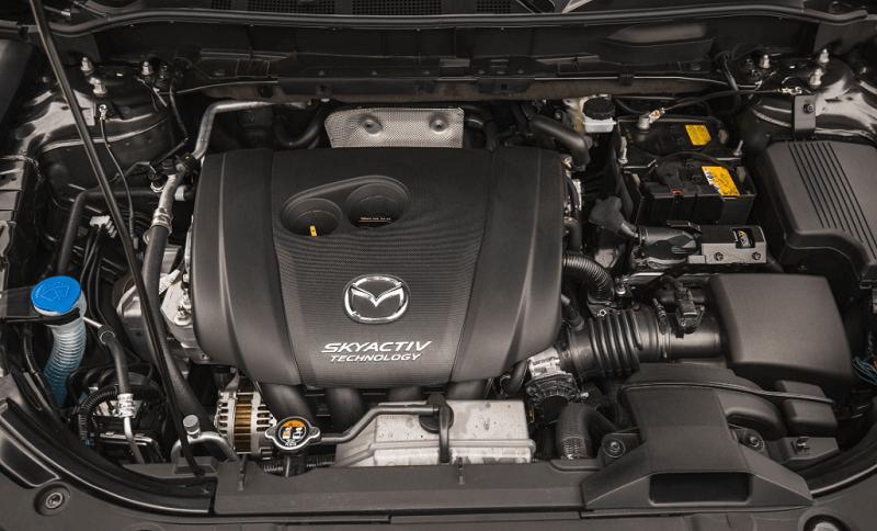 Mazda CX-5 2021, двигатель