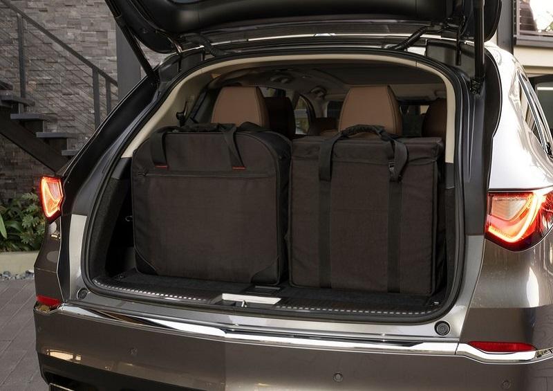Салон Acura MDX 2022, багажник