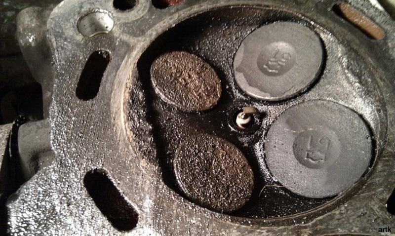 Откуда берётся нагар на двигателе