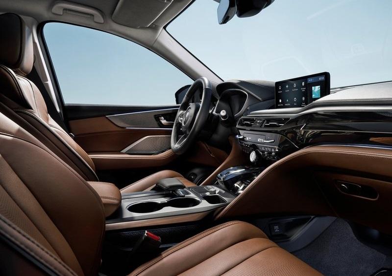 Салон Acura MDX 2022, передние сидения