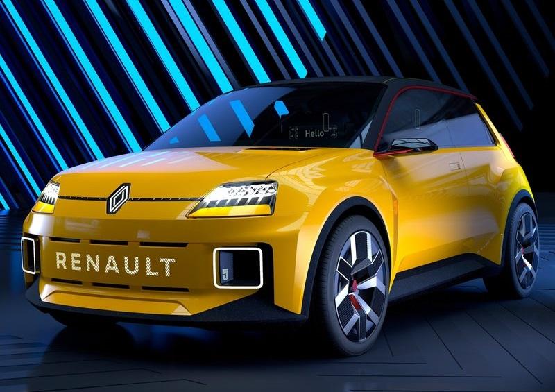 Renault 5 Concept – электрокар будущего с нотками из прошлого