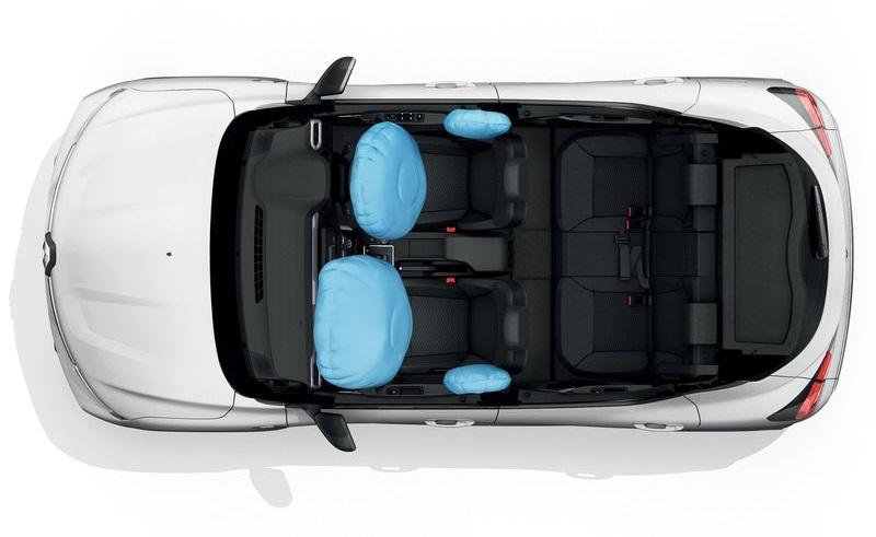 Renault Kiger 2022, подушки безопасности
