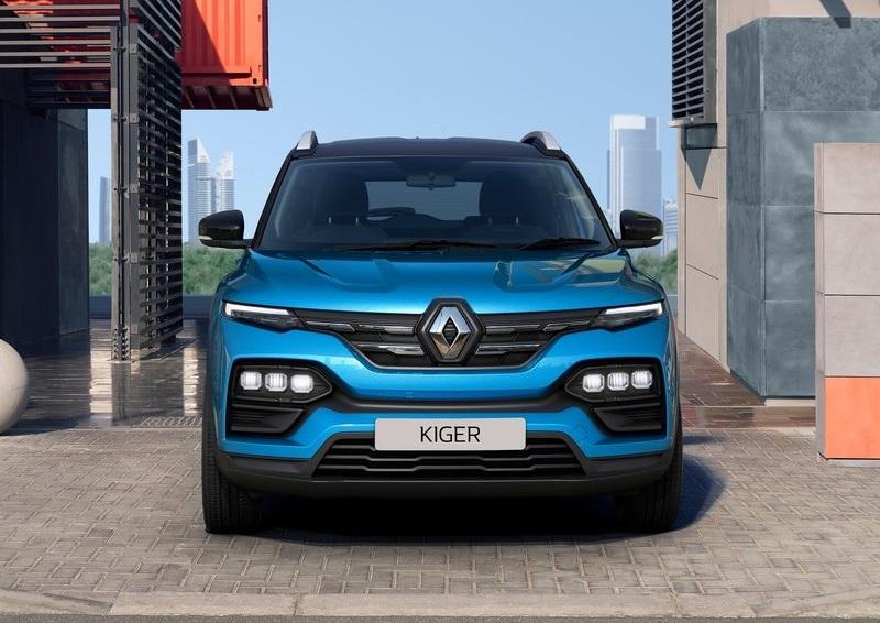 Renault Kiger 2022, вид спереди