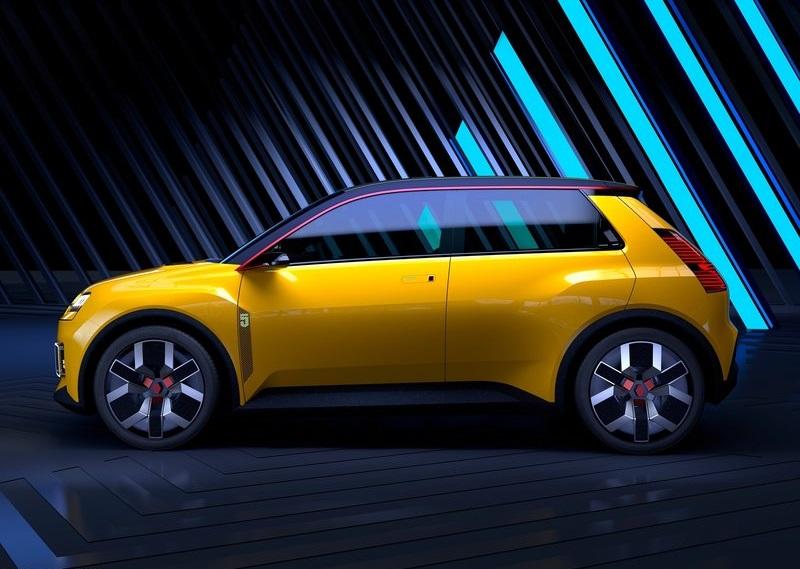 Renault 5 Concept, вид сбоку слева