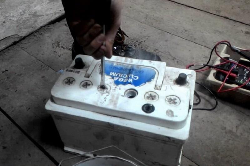 Закипание электролита в аккумуляторе
