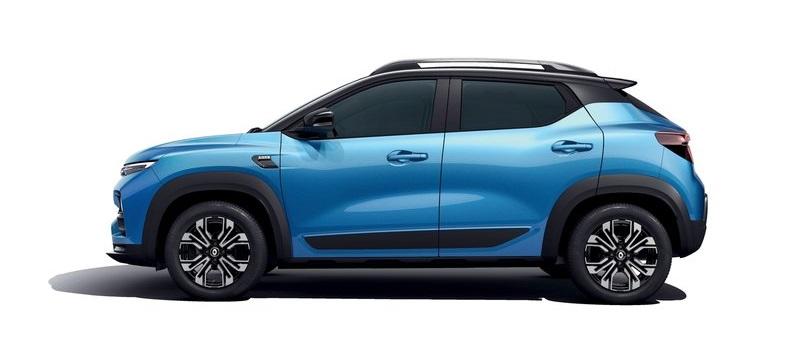 Renault Kiger 2022, вид сбоку слева