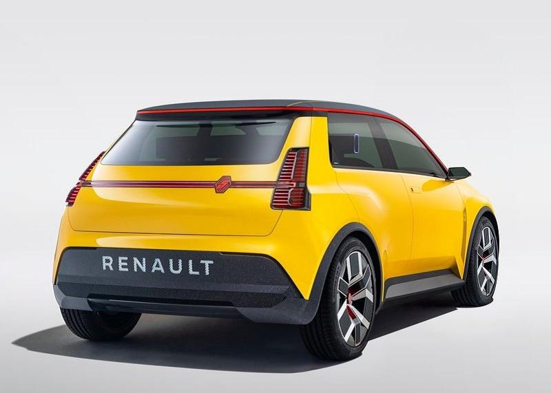 Renault 5 Concept, вид сзади и сбоку справа