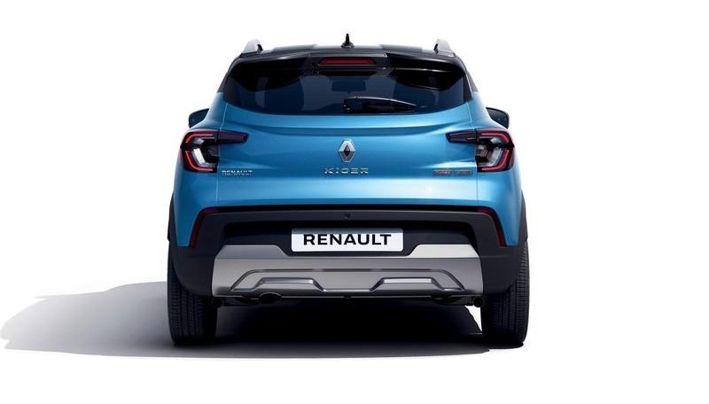 Renault Kiger 2022, вид сзади