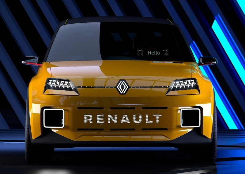Renault 5 Concept, вид спереди