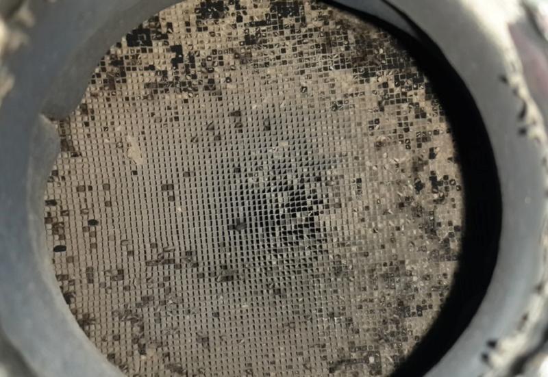 Загрязнение катализатора