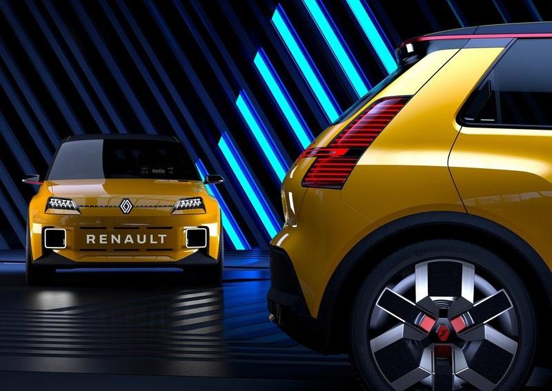 Renault 5 Concept, технические характеристики