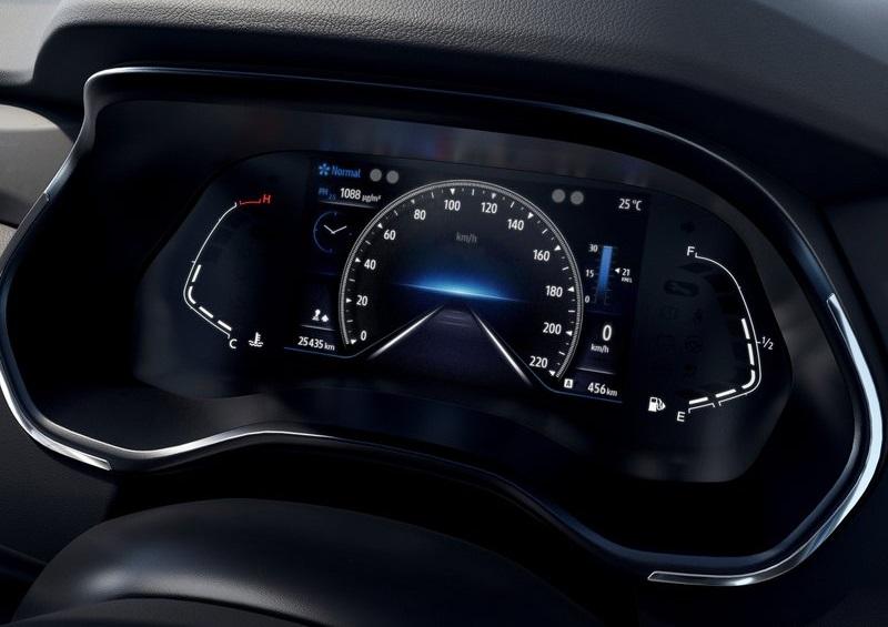 Салон Renault Kiger 2022, панель управления