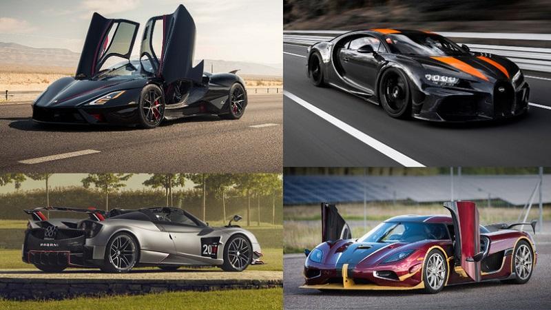 12 самых быстрых автомобилей мира
