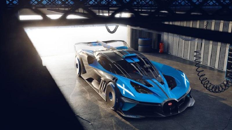 2021 Bugatti Bolide (484 км/ч)