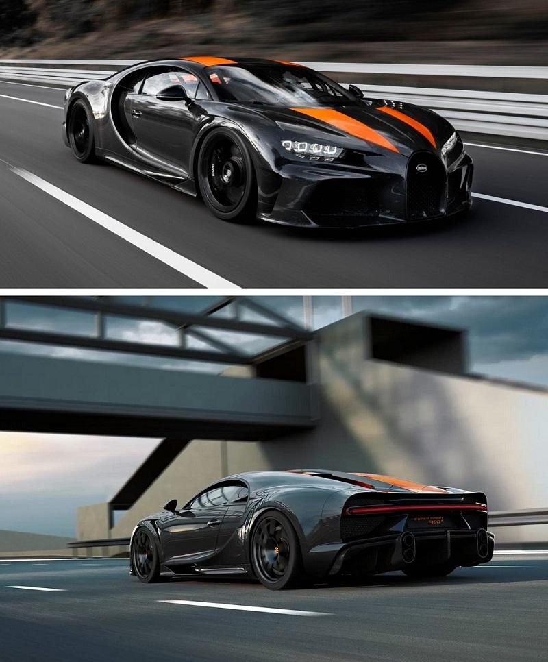 2021 Bugatti Chiron Super Sport 300+ (491 км/ч)