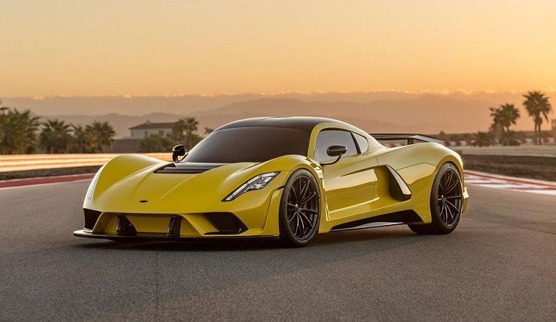2021 Hennessey Venom F5 (500 км/ч)