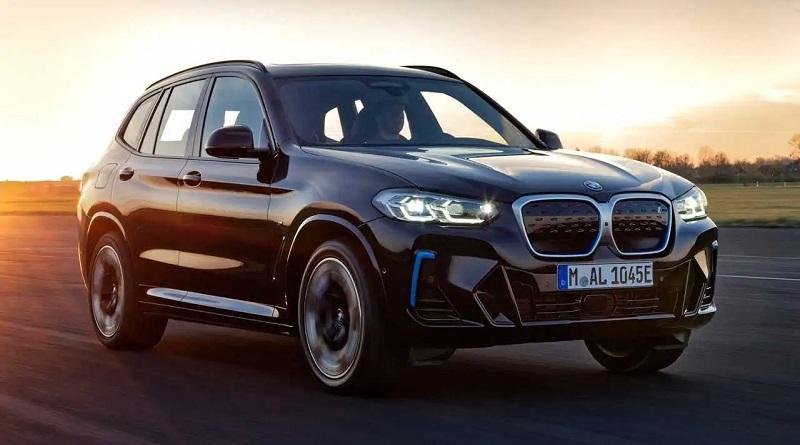 BMW iX3 2022 – инновационный электрический кроссовер