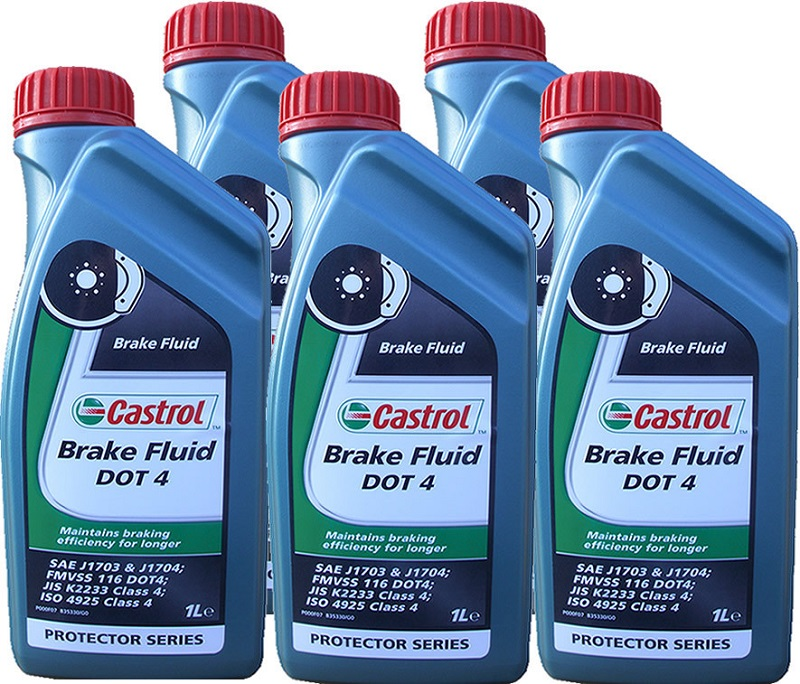 2. Castrol Brake Fluid DOT 4