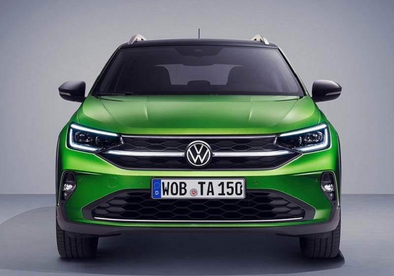 Volkswagen Taigo 2022, вид спереди