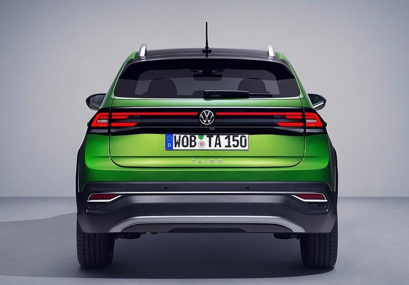 Volkswagen Taigo 2022, вид сзади