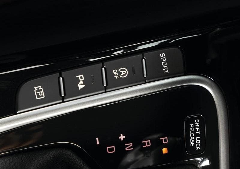 Kia Ceed 2022, элементы интерьера