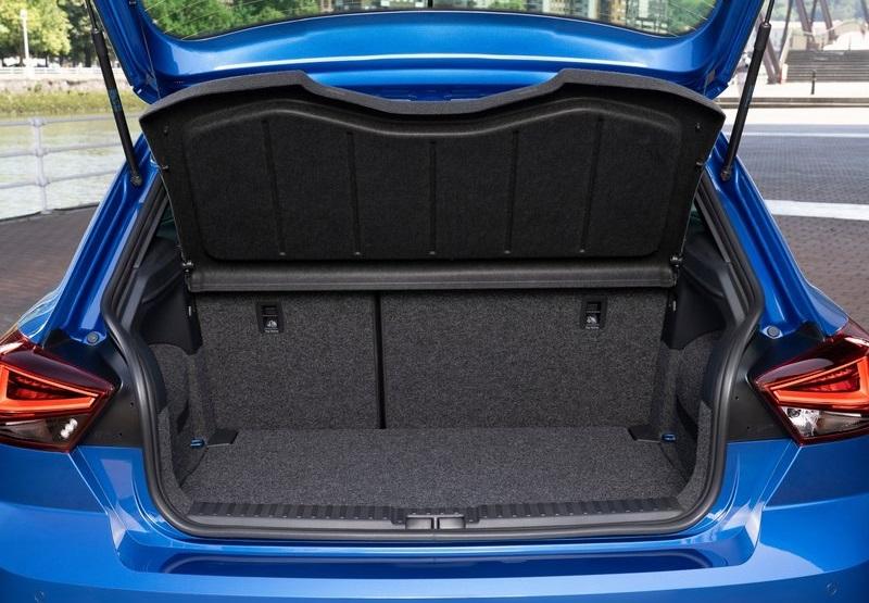 Seat Ibiza 2022, багажник