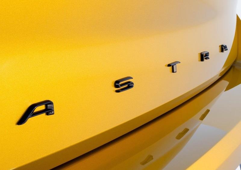 Opel Astra 2022, логотип