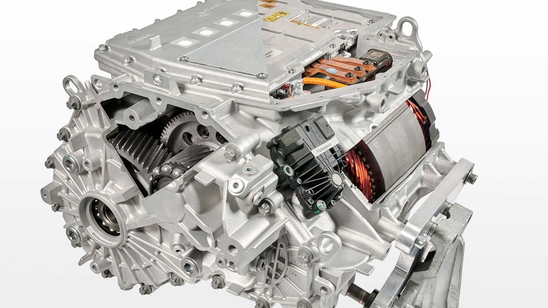BMW iX3 2022, двигатель