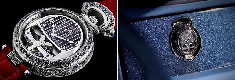 Rolls-Royce Boat Tail, элементы интерьера